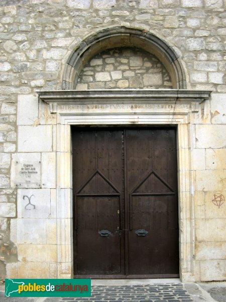 Fortià - Església de Sant Julià, portalada