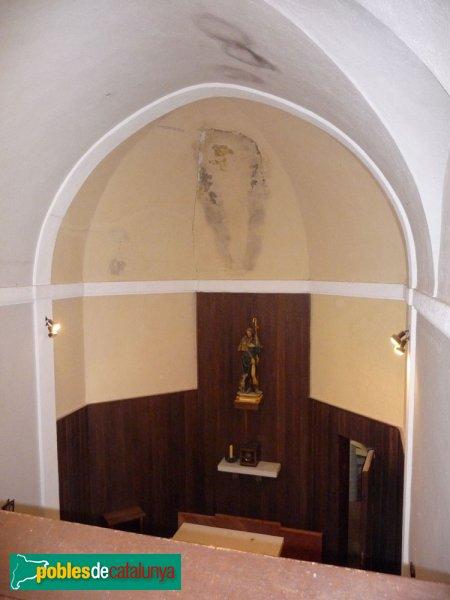 El Marquet de les Roques - Capella, interior