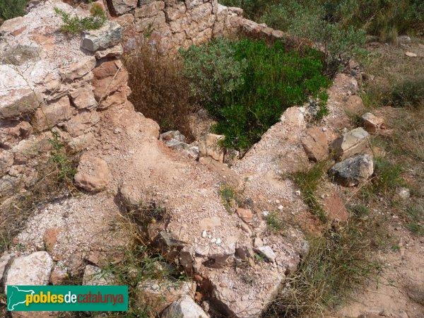 Castell de Pera, restes