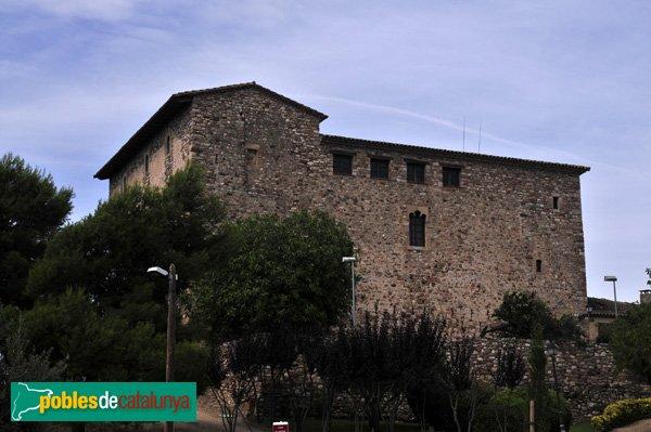 Castell de Plegamans, Façana de llevant