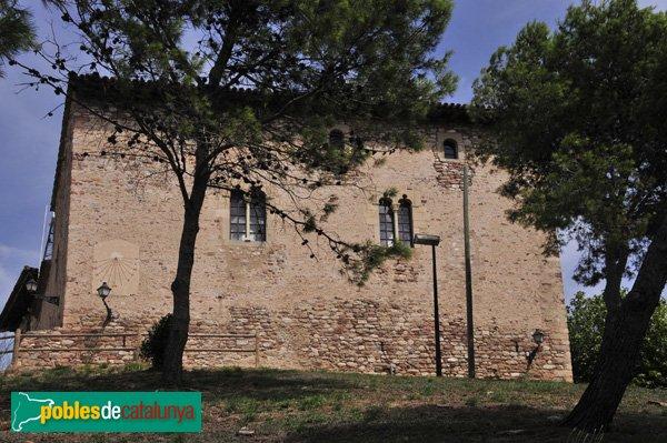 Castell de Plegamans, façana Sud
