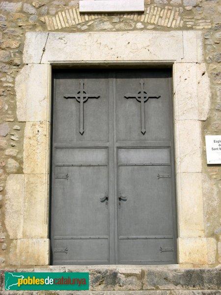 Riumors - Església de Sant Memet, portalada