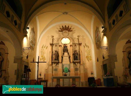 Riumors - Església de Sant Memet, interior