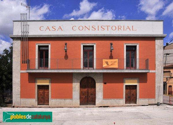 Casa de la Vila (Casa Consistorial) de Palau-solità i Plegamans, façana principal