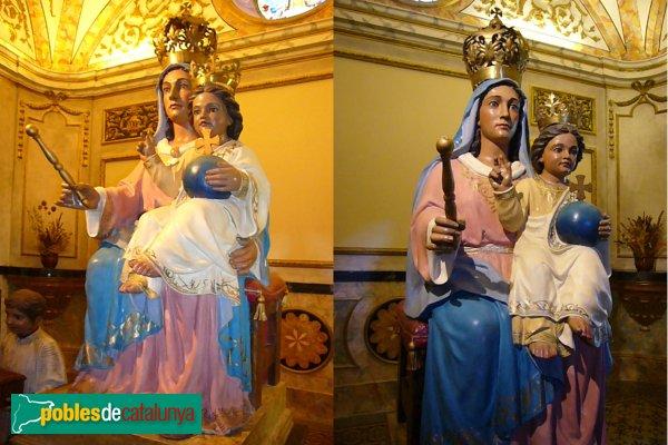 Passanant - Església de Sant Jaume, Mare de Déu de Passanant