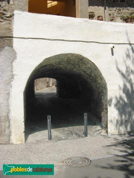 Vilamaniscle - Travessia dels Porxos