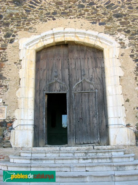 Garriguella - Santa Eulàlia de Noves, portalada