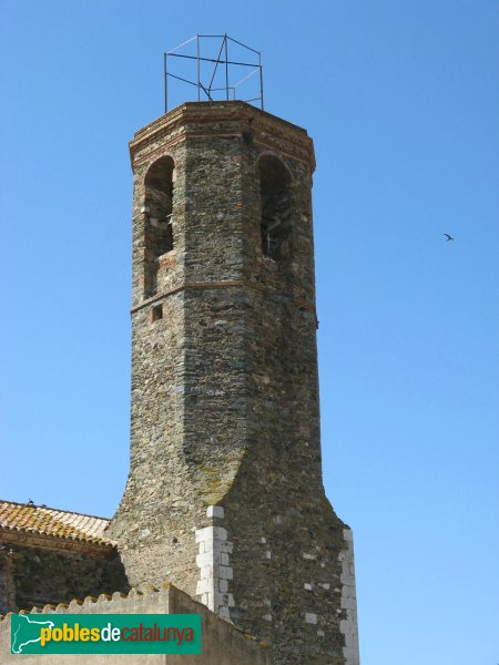 Garriguella - Santa Eulàlia de Noves, campanar