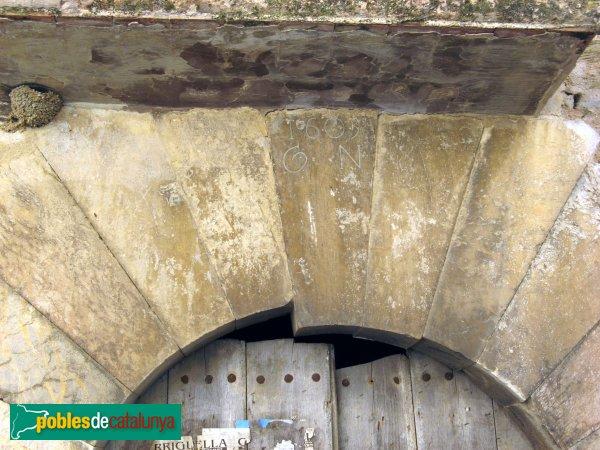 Garriguella - Baix a Garriguella, portal 1603