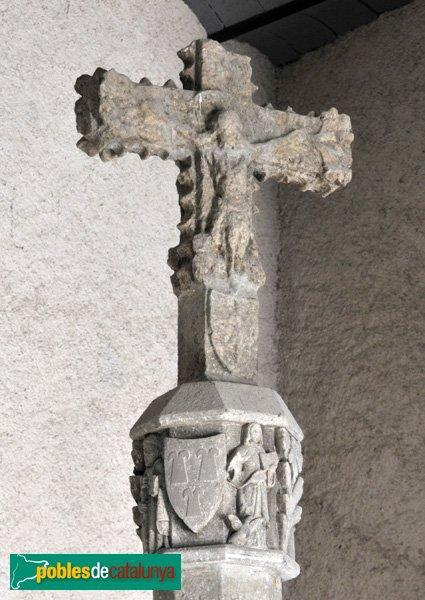 Santa Coloma de Queralt - Interior del castell - Detall