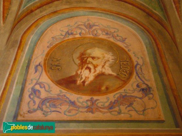 Passanant - Església de Sant Jaume, Pintura de l'interior.