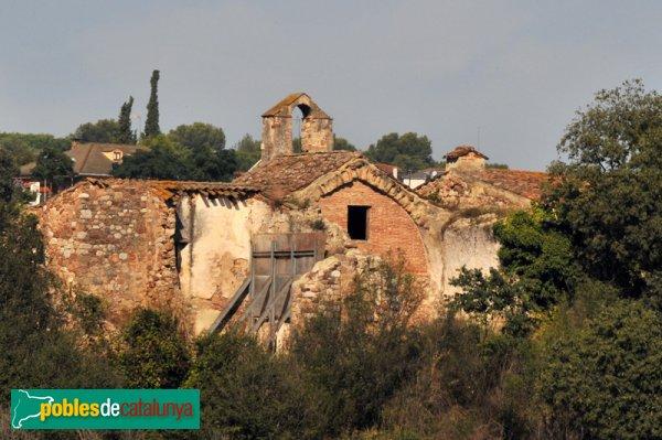 Capella de Santa Magdalena, part del darrere