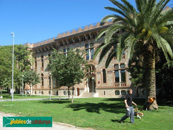 Barcelona - Maternitat, pavelló de la Lactància