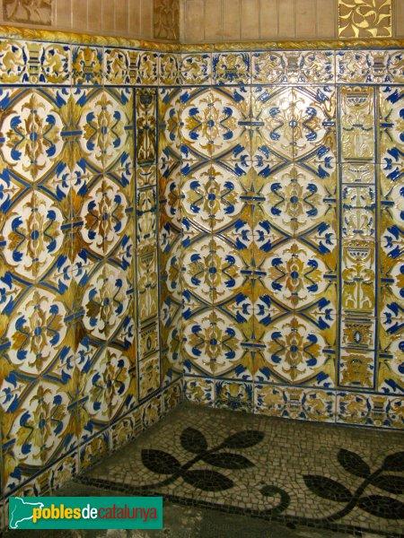 Barcelona - Palau Quadras, arrambadors