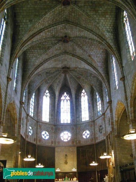 Barcelona - Monestir de Pedralbes, església