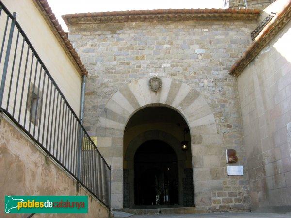 Barcelona - Monestir de Pedralbes, porta del claustre