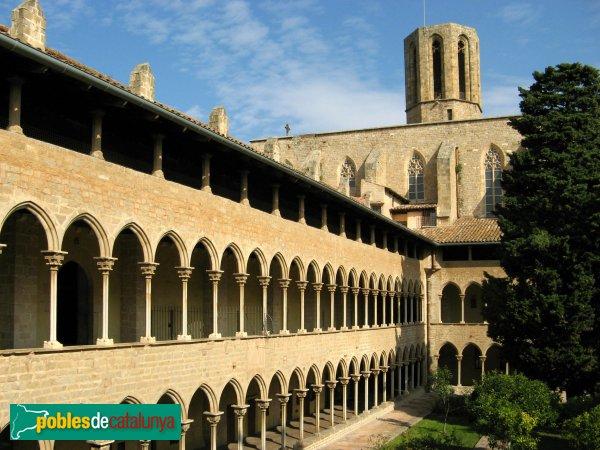 Barcelona - Monestir de Pedralbes, claustre