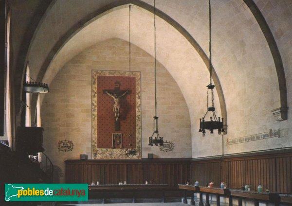 Barcelona - Monestir de Pedralbes, refetor