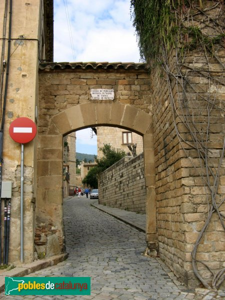 Barcelona - Monestir de Pedralbes, entrada sud del recinte