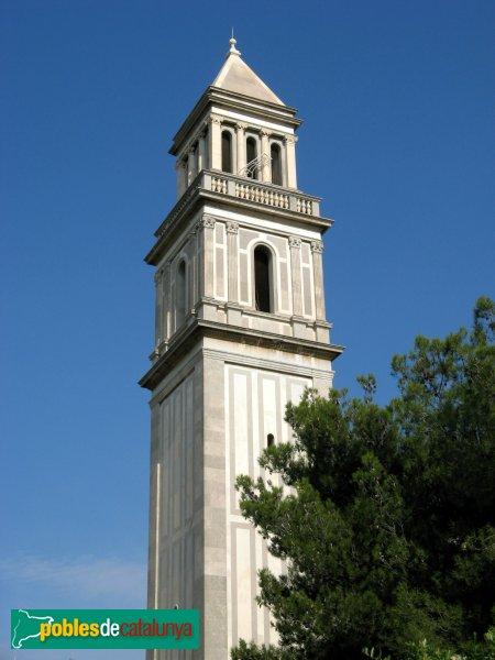 Barcelona - Església de Montserrat, campanar