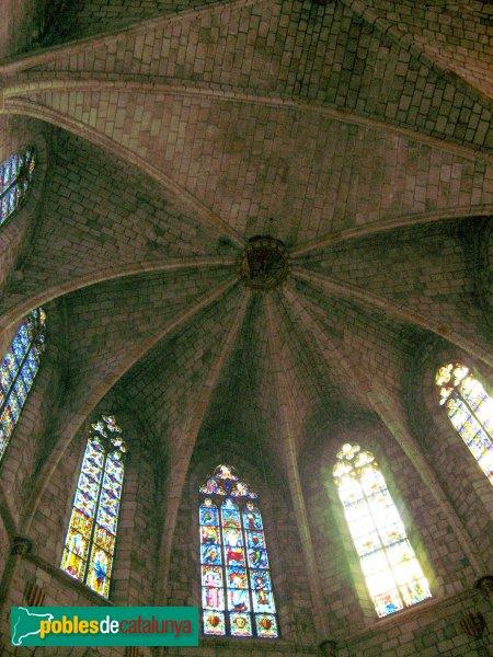 Barcelona - Monestir de Pedralbes, volta de l'absis