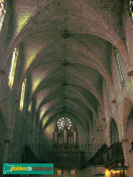 Barcelona - Monestir de Pedralbes, interior església
