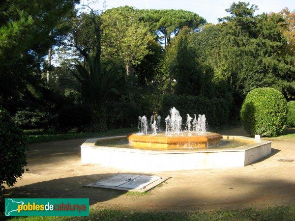 Jardins del palau de pedralbes barcelona pedralbes - Jardins del palau ...