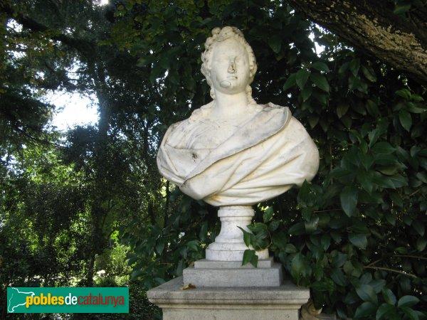 Jardins del palau de pedralbes les est tues barcelona - Jardins del palau ...