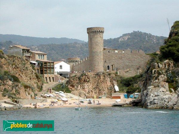 Tossa de Mar - Muralla, torre del Codolar