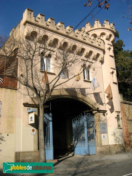 Barcelona - Torre Marsans, pavelló d'entrada