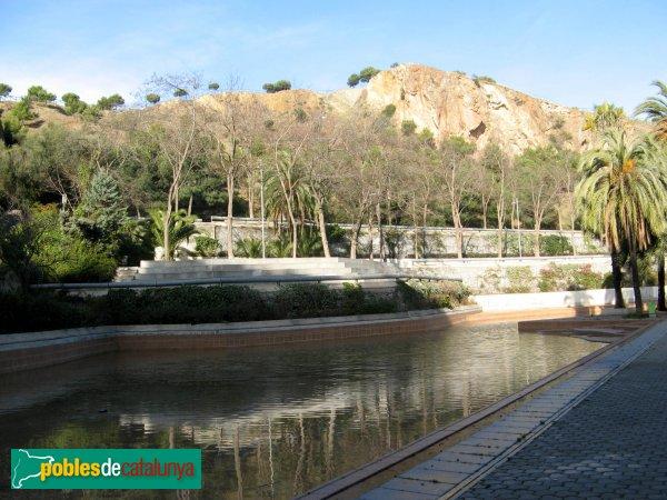 Parc de la creueta del coll barcelona el coll pobles for Piscina creueta del coll