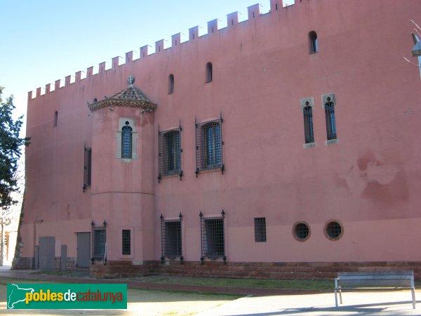 Viladecans - Torre Roja, façana posterior