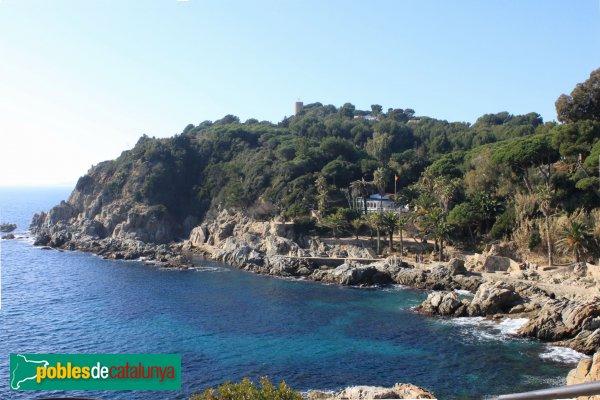Lloret de Mar - Castell de Sant Joan, prop de Cala Banys