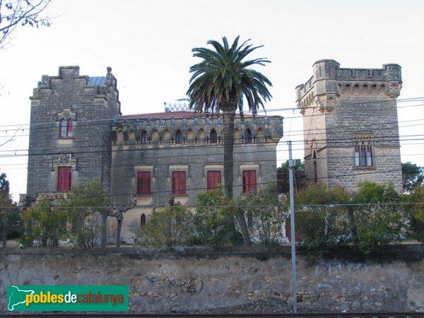 Vila-Seca - Castell, façana posterior