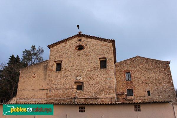 Blanes - Santuari del Vilar, façana posterior
