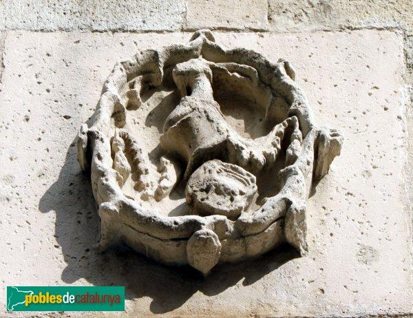 Blanes - Font Gòtica, escut dels Cabrera