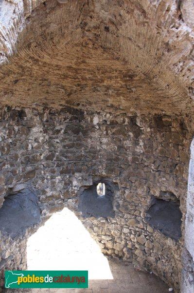 Hostalric - Interior d´una torre