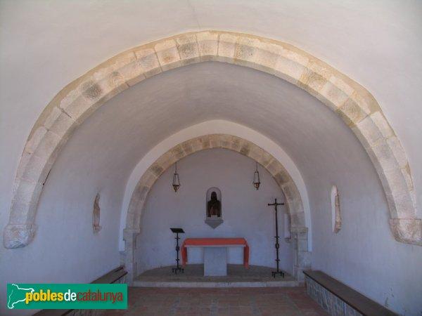 Blanes - Ermita de Santa Bàrbara (interior)
