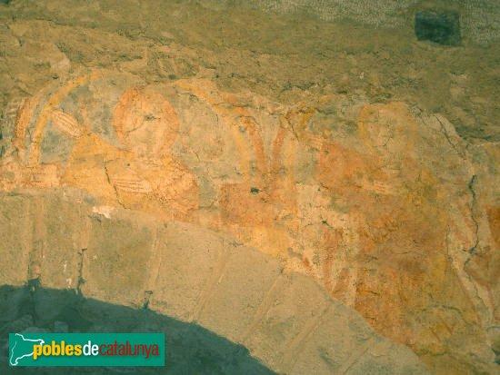 Arbúcies - Sant Pere Desplà, pintures romàniques