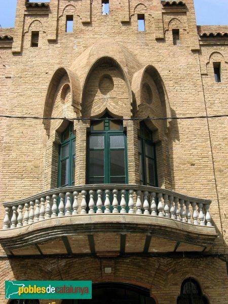 Molins de Rei - Federació Obrera, balcó
