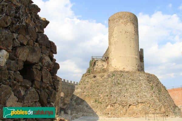 Arbúcies - Castell de Montsoriu, torre mestra