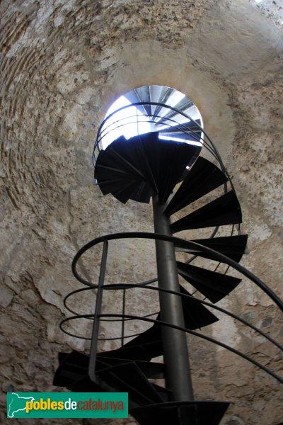 Arbúcies - Castell de Montsoriu, interior de la torre mestra