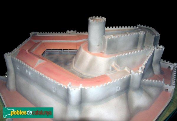 Arbúcies - Maqueta del castell de Montsoriu, Museu la Gabella