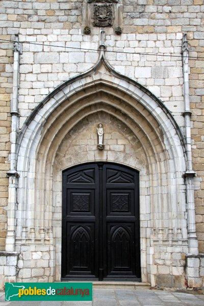 Breda - Església de Sant Salvador, portada