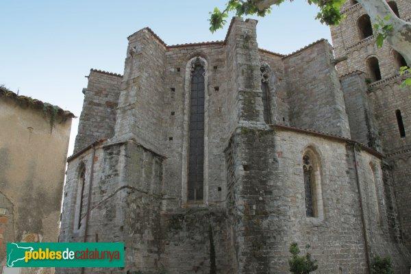 Breda - Església de Sant Salvador, absis