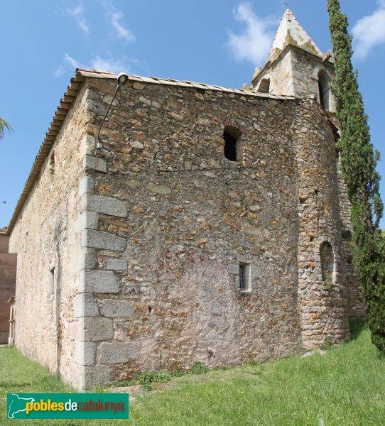 Sant Feliu de Buixalleu - Església de Sant Feliu, capçalera