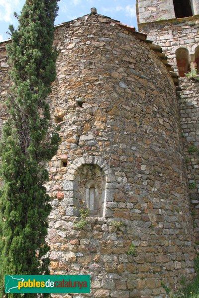 Sant Feliu de Buixalleu - Església de Sant Feliu , absis