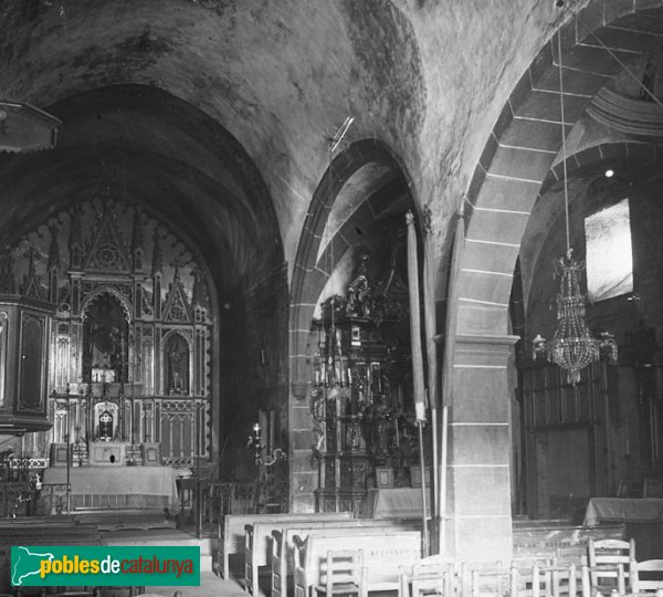 Sant Feliu de Buixalleu - Església de Sant Feliu, interior