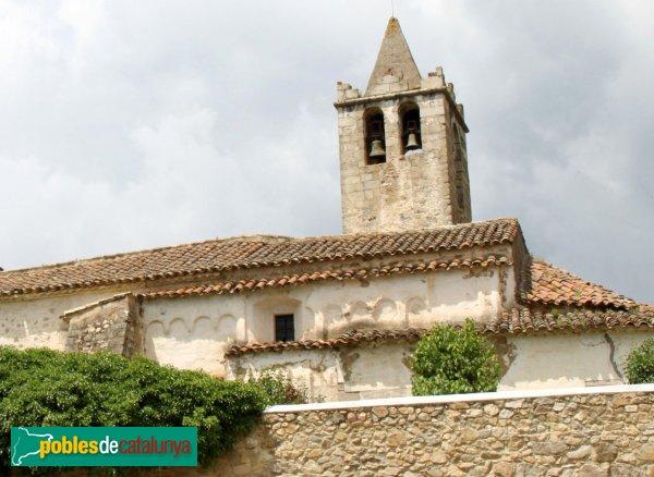 Sant Feliu de Buixalleu - Sant Llorenç de Gaserans, façana romànica
