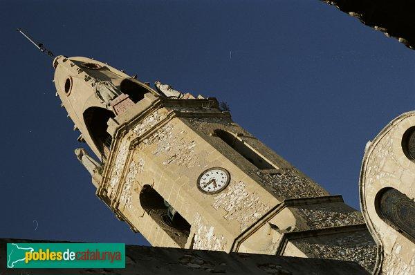 Creixell - Església de Sant Jaume, campanar